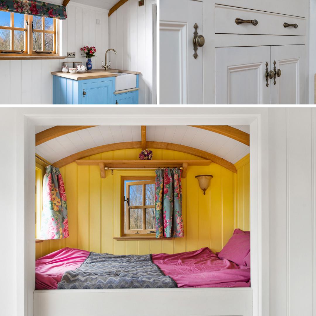 Shepherds Hut Interior